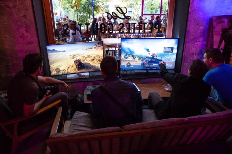 Event Mad Max : des Xbox One étaient à disposition pour tester le jeu