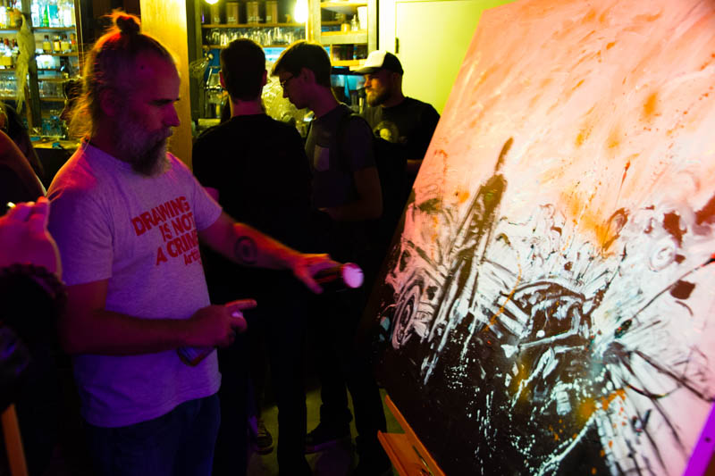 Event Mad Max : live painting