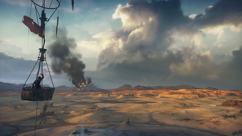Mad Max : un petit tour en montgolfière pour admirer la vue...