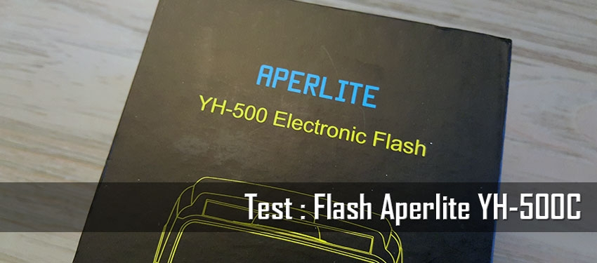 Test : Flash Aperlite YH-500C