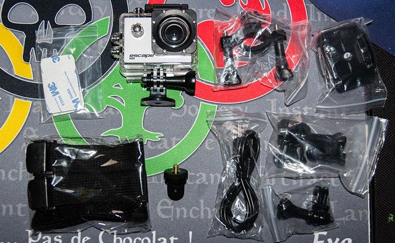 Escape HD5 : des accessoires en pagaille !