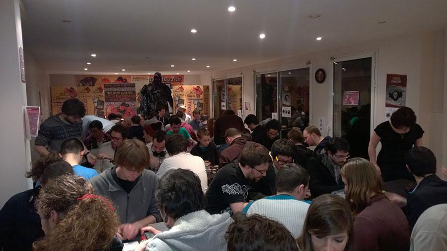 Magic Bazar : une grande salle