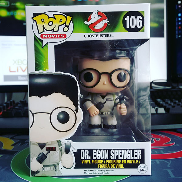 Figurine Funko Pop Ghostbusters : Dr. Egon Spengler