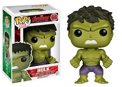 Figurine Funko Pop Hulk The Avengers