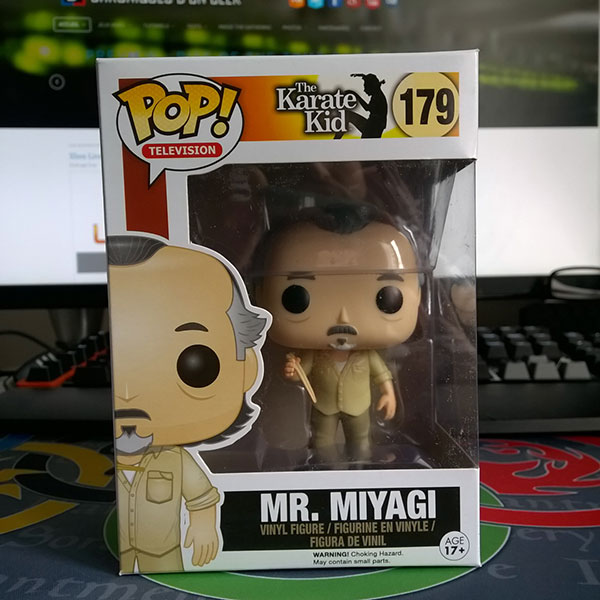 Figurine Funko Pop The Karate Kid : Mr Miyagi