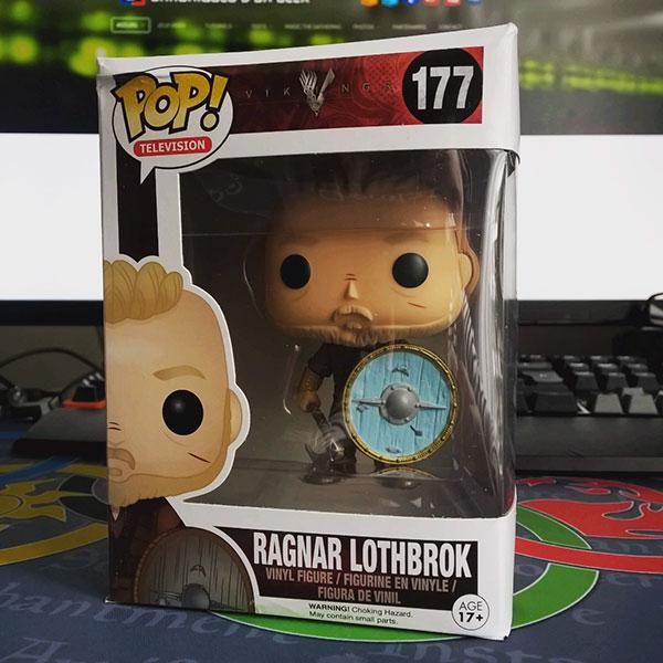 Figurine Funko Pop Vikings : Ragnar Lothbrok