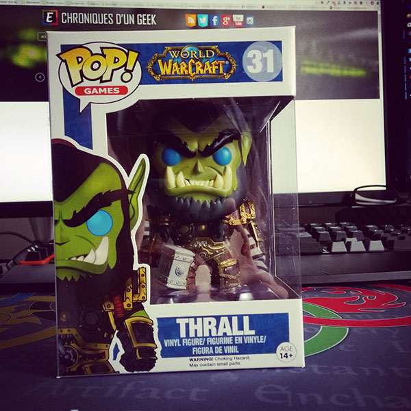 Figurine Funko Pop Blizzard World of Warcraft : Thrall