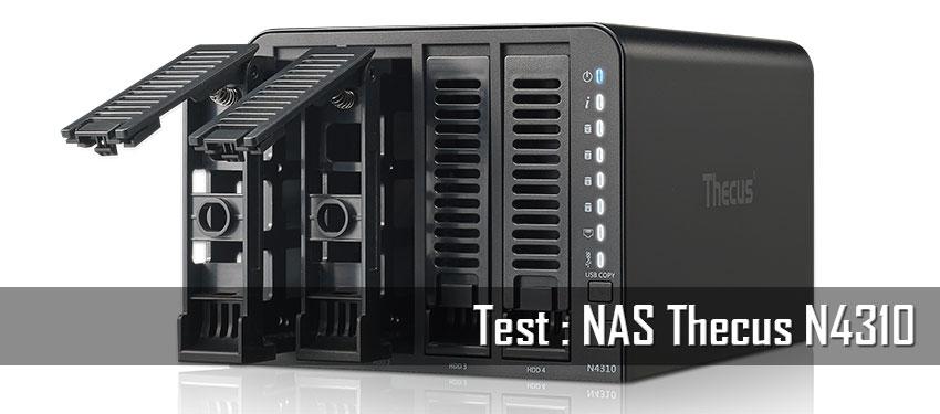 Test : NAS Thecus N4310