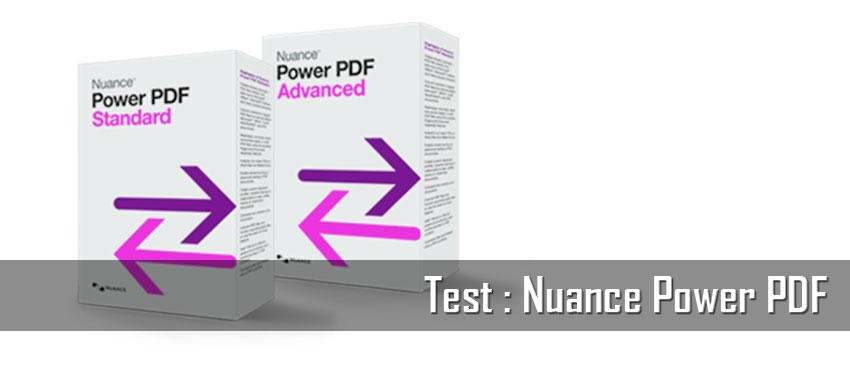 Test : Nuance Power PDF