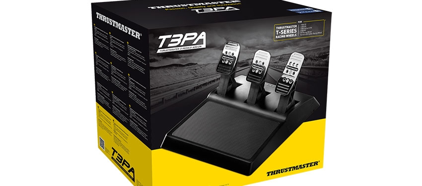 Test : pédalier Thrustmaster T3PA
