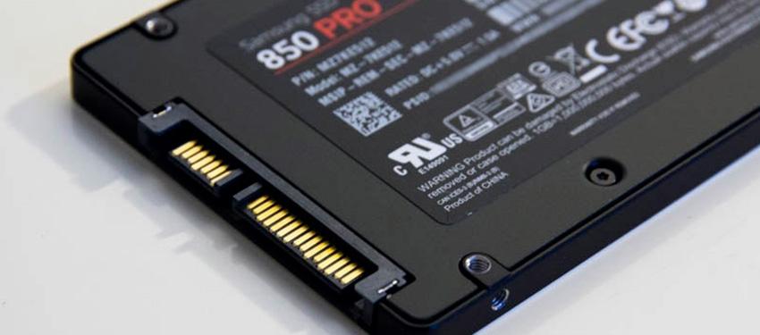 Test : SSD Samsung 850 Pro 512Go