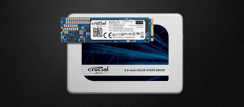Test : SSD Crucial MX300 M.2 525Go