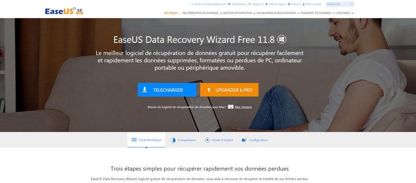 Tutoriel : récupérer ses données avec Easeus Data Recovery