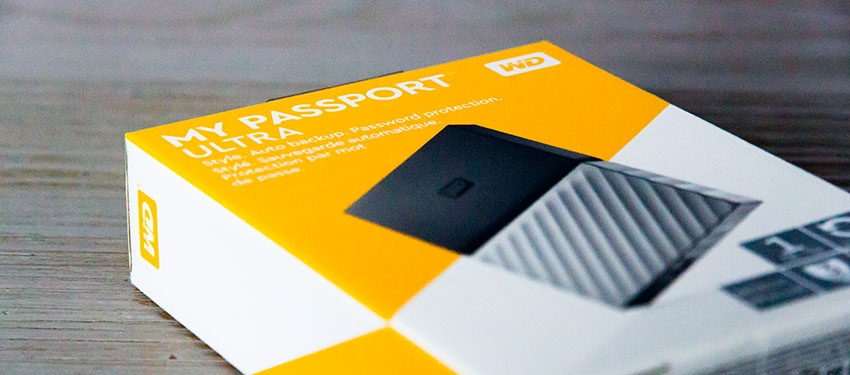 Test : disque dur externe Western Digital My Passport Ultra